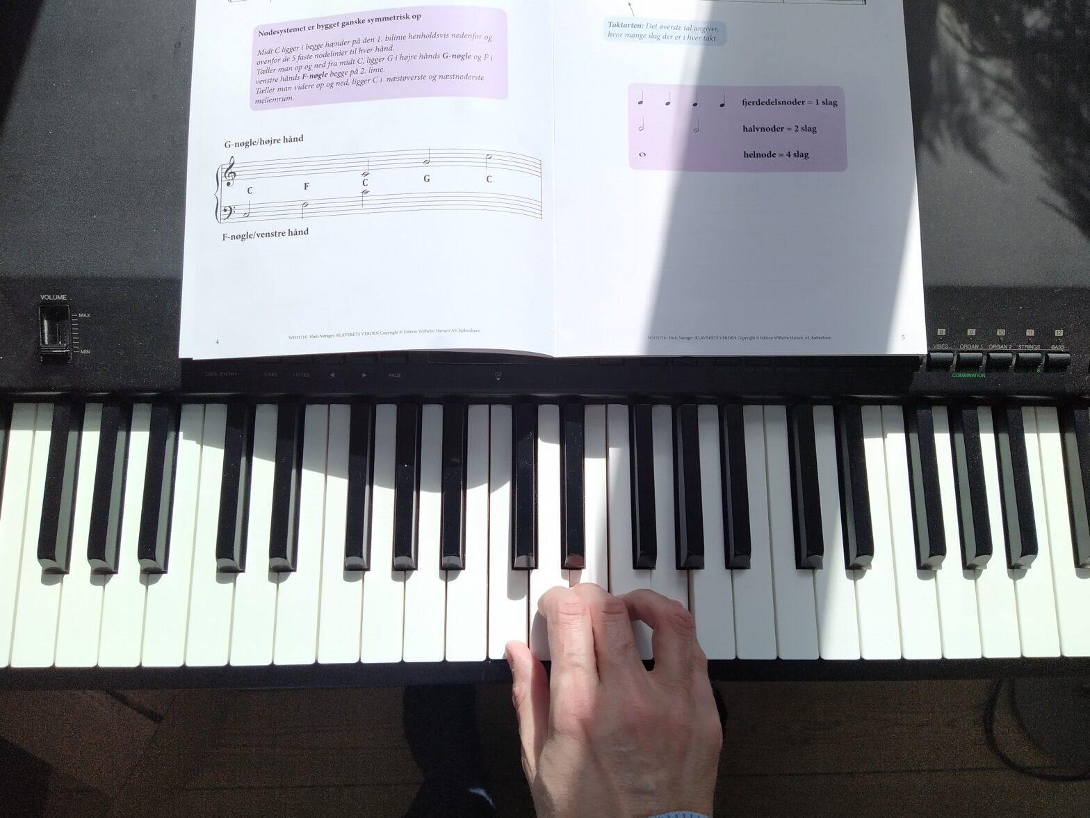 Online klaverundervisning